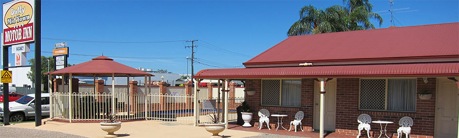 Dalby Mid Town Motor Inn offers quality 4 star accommodation including free WiFi and Foxtel