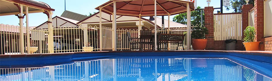 Guests are welcome to cool off in our sparkling in ground pool and relax in the undercover gazebo